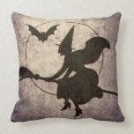 Almohada de la bruja del vuelo del Victorian