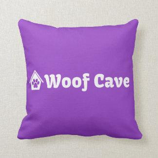 Almohada de la cueva del tejido