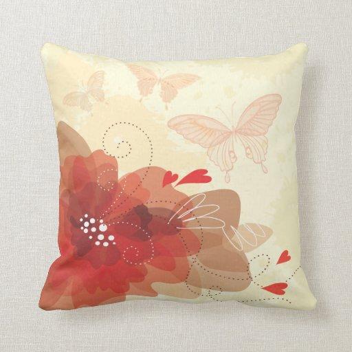 Almohada de la decoración 17 de la flor