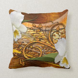 Almohada de la decoración 3 de la flor