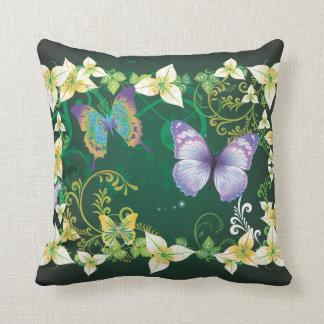 Almohada de la decoración 4 de la flor