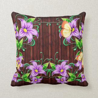 Almohada de la decoración 5 de la flor