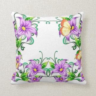 Almohada de la decoración 5A de la flor