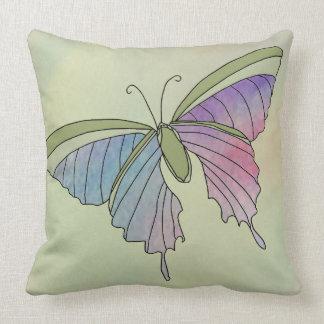 Almohada de la decoración de la mariposa de los co