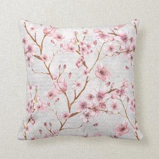 Almohada de la flor de cerezo