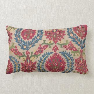 Almohada de la flora del papel pintado del vintage