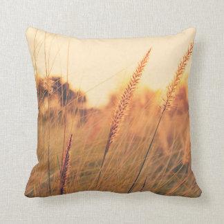 Almohada de la hierba de fuente