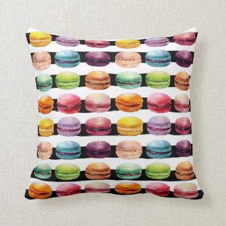 Almohada de la impresión de Macaron