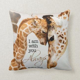 Almohada de la jirafa