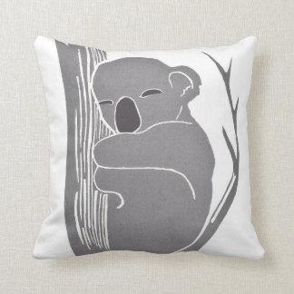 Almohada de la koala el dormir