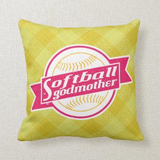 Almohada de la madrina del softball