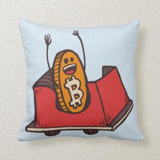 Almohada de la montaña rusa de Bitcoin
