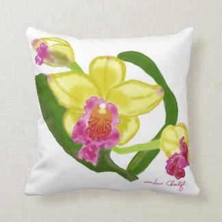 Almohada de la orquídea