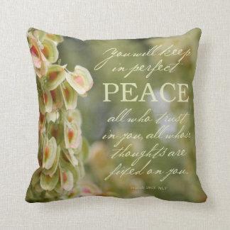 "Almohada de la paz 16x16 perfecto"""