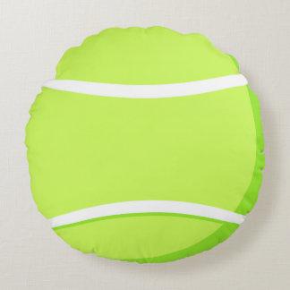 Almohada de la pelota de tenis cojín redondo