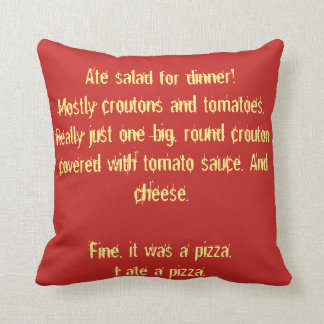 Almohada de la PIZZA
