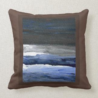 Almohada de la playa de la costa de la decoración