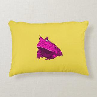 Almohada de la rana córnea del arte pop