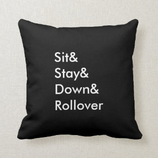 Almohada de la refinanciación de Sit& Stay& Down&