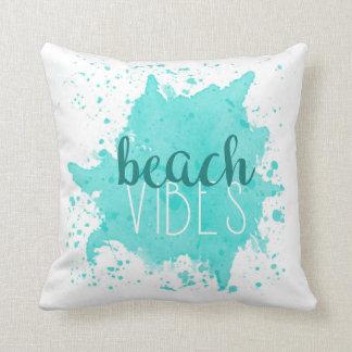 Almohada de la sensación de la playa