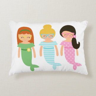 Almohada de la sirena para un cuarto de los chicas