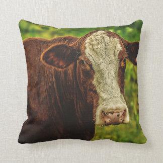 Almohada de la vaca del MOO