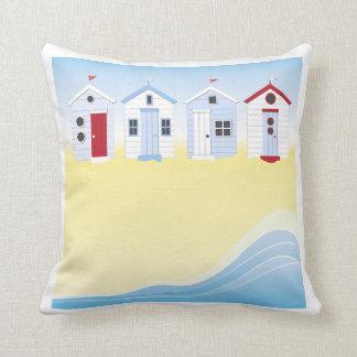 Almohada de las chozas de la playa
