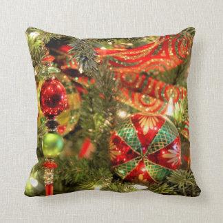 Almohada de las decoraciones del árbol de navidad