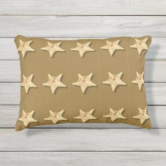 Almohada de las estrellas de mar cojín de exterior