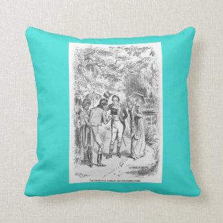 Almohada de las señoras de Jane Austen del orgullo