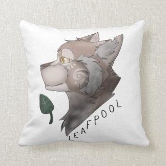 Almohada de los gatos del guerrero de Leafpool