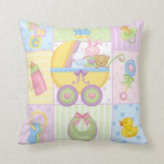 Almohada de los iconos del bebé