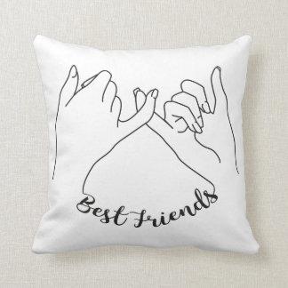 Almohada de los mejores amigos