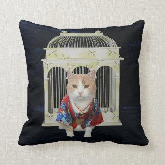 almohada de MoJo del americano del 猫 (gato)