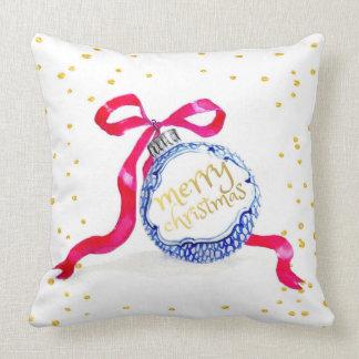 Almohada de muy buen gusto del navidad