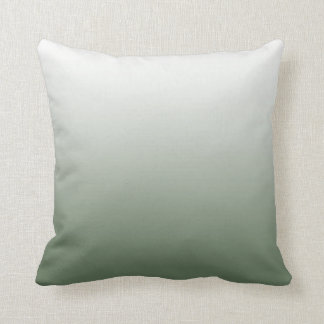 Almohada de Ombre del verde caqui