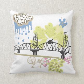 Almohada de Portland Oregon del puente de