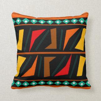 Almohada de tiro africana intrépida de la