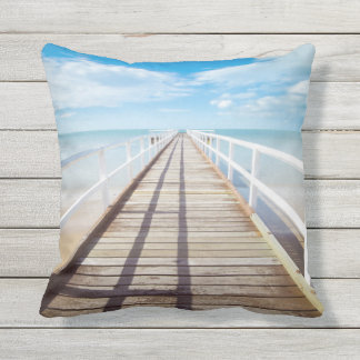 Almohada de tiro al aire libre del embarcadero