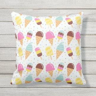 Almohada de tiro al aire libre del helado