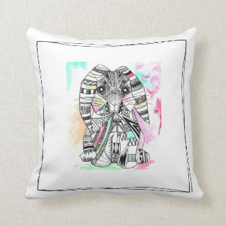 Almohada de tiro azteca del conejito
