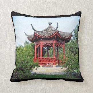 Almohada de tiro china del salón de té