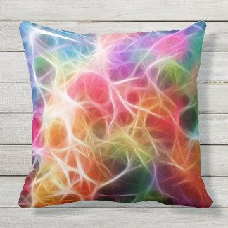 Almohada de tiro colorida del modelo de la energía