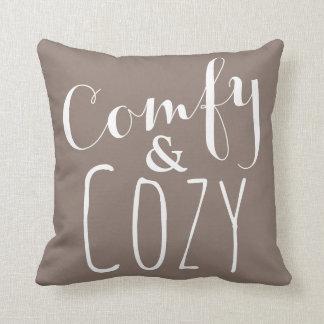 Almohada de tiro cómoda - decoración casera de