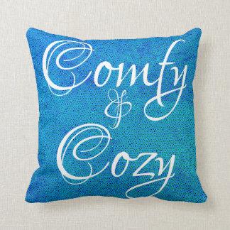 Almohada de tiro cómoda y acogedora en guijarro