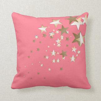 Almohada de tiro coralina de la estrella