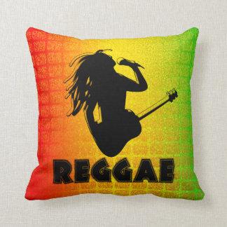 Almohada de tiro cuadrada de Rasta Rastafarian