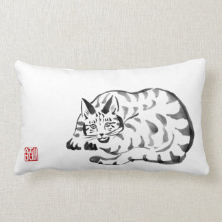 Almohada de tiro dañosa del gato