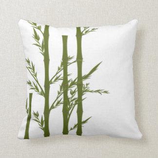 Almohada de tiro de bambú afortunada
