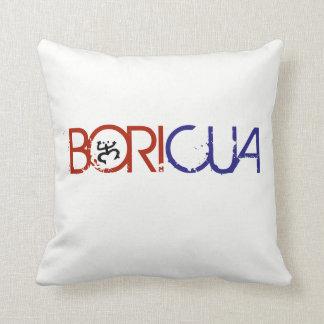 Almohada de tiro de Boricua